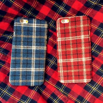 Ethnic Cloth Grids Case for iPhone