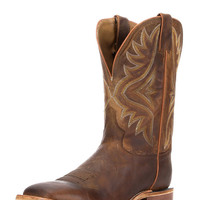 Men's Tan Worn Goat Boot