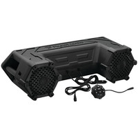 "PLANET AUDIO PATV65 Power Sports Series Waterproof All-Terrain Sound System with Bluetooth(R) & LED Light Bar (6.5"", 450 Watts)"