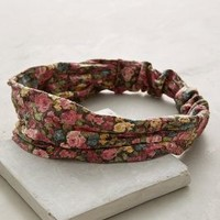 Meadowsweet Turban Band by Anthropologie in Pink Size: One Size Hair