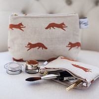 Cosmetic Bag Fox