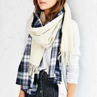 Donni Charm Donni Merge Plaid Scarf