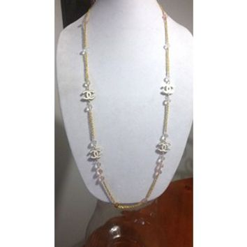 "Stunning Designer 42"" Hollywood Glam, Crystal Chain Necklace"