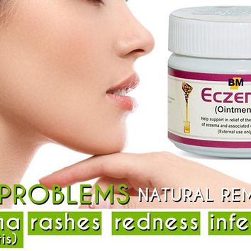 Eczema Ointment, 40gm, a Natural Treatment for Eczema, Psoriasis & Dermatitis, Instant Relief for Dry, Itchy Skin, Helps Minimize Scarring (Acne Scars too), Doesn't Cause Stinging