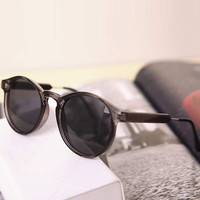 Grey Celebrity Retro Sunglasses