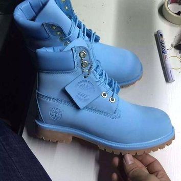 Timberland Rhubarb Boots 10061 2018 Blue Waterproof Martin Boots
