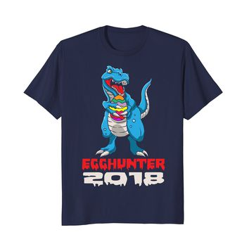 Dinosaur T-Rex Egg Hunter | Funny Happy Easter 2018 Shirt