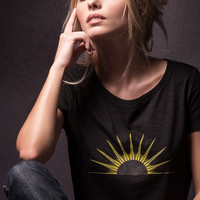Symbol of Apollo God of the Sun Nychta t-shirt for women