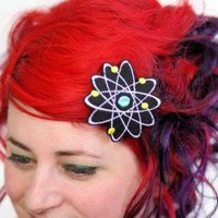 Atom Hair Clip, Boron, Science Geek.. on Luulla