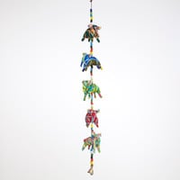 Fabric Elephants Hanger - World Market