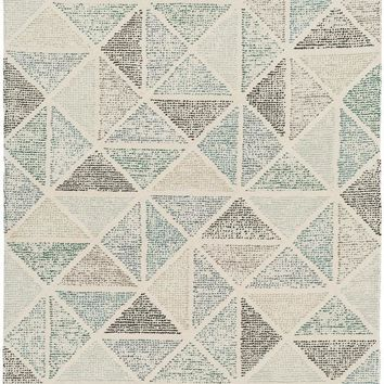 Surya Melody Geometric Neutral MDY-2006 Area Rug