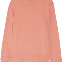 Acne Studios - Carly loopback cotton-jersey sweatshirt