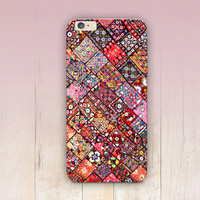 Indian Pattern Print Phone Case For - iPhone 6 Case - iPhone 5 Case - iPhone 4 Case - Samsung S4 Case - iPhone 5C - Tough Case - Matte Case
