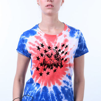 American Flag Shirt United States Freedom Bald Eagle Patriotic America Merica 4th of July Conservative