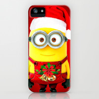 X'MAS-MINIONS iPhone & iPod Case by BESTIPHONE5CASESHOP
