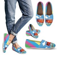 Rainbow Hippie Casual Shoes
