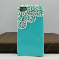 Lace Style iPhone case  iPhone 4s case iPhone cover 14  color choices Listing Stats Listing Stats