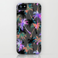 Falling Palms iPhone & iPod Case by Schatzi Brown