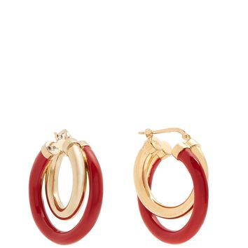 Medium double hoop earrings | Peter Pilotto | MATCHESFASHION.COM UK