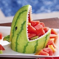 Ceramic Watermelon Party - BBQ Serving Bowl