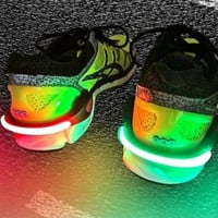 FireFly Running & Biking Safety Lights Night Safe Running Shoe Clamp Bicycle Accessories Luminescence Shoes Lamp