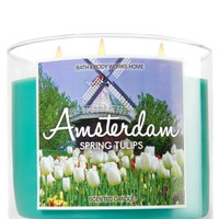 3-Wick Candle Amsterdam - Spring Tulips