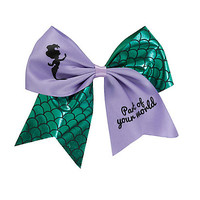 Disney The Little Mermaid Ariel Part Of Your World Cheer Hair Bow