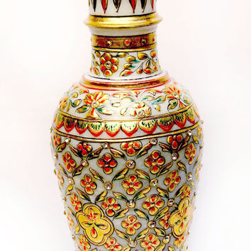 Aakashi Gold  Flower Vase