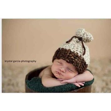 Fashion crochet infant newborn new born Baby photography Pro Costume services for children props hat caps accessories