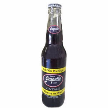 Grapette Glass Bottle Soda