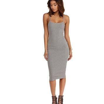 Heather Gray After Party Dress
