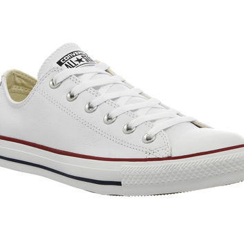 Converse All Star Low Leather Optical White - Unisex Sports