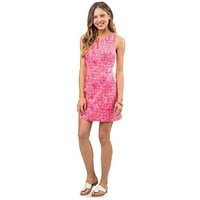Sand Dollar Print Dress in Smoothie Pink by Southern Tide - FINAL SALE