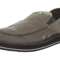 Sanuk Pick Pocket Brown Sidewalk Surfer Shoes