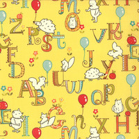 Mind Your Ps & Qs by Keiki for moda fabrics, $9/yd