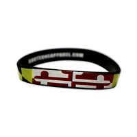 Maryland Pride Stretch / Bracelet