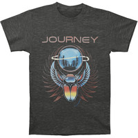 Journey Men's  Beetle Planet T-shirt Heather Charcoal