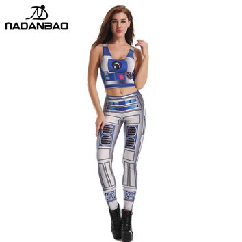 NADANBAO Brand New Arrival Summer STAR WARS Legging Hot Sale Women Leggins 3D Printed Leggings