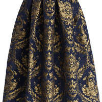 Glorious Baroque Midi Skirt Multi