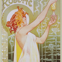 Absinthe Robette Posters by Privat Livemont at AllPosters.com