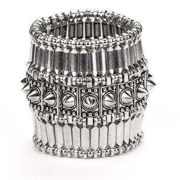 Mid Weight Armor Spiked Bracelet