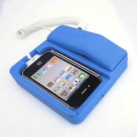 Daditong Classic Landline Style Dock Docking Station Handset Speaker for iPhone 4S 4 3GS 3G