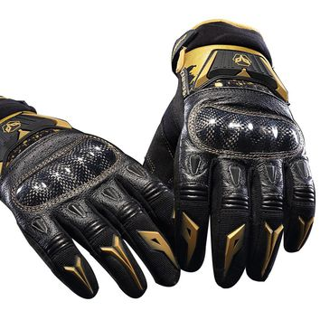 genuine leather Duhan DS03 Motorcycle gloves autumn riding knight men gloves off-road racing gloves motorbike crash-proof GDS03