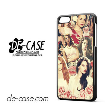 Lana Del Rey Collage For Iphone 5C Case Phone Case Gift Present YO