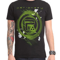 Periphery Green Logo Slim-Fit T-Shirt