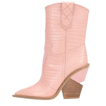 Shoe Western Ankle Boot