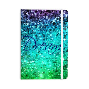"Ebi Emporium ""Dream"" Blue Teal Everything Notebook"