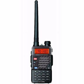 ONETOW New Baofeng UV-5RB For Police Walkie Talkies Scanner Radio Dual Band Cb Ham Radio Transceiver UHF 400-470MHz & VHF 136-174MHz