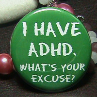 ADHD SUPPORT PIN For Kids Funny Humor. No More Stink Eye For Mommy. Also Great For Adult 1.5 Inch.. | Luulla