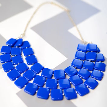 Snorkel Blue Sassy Necklace
